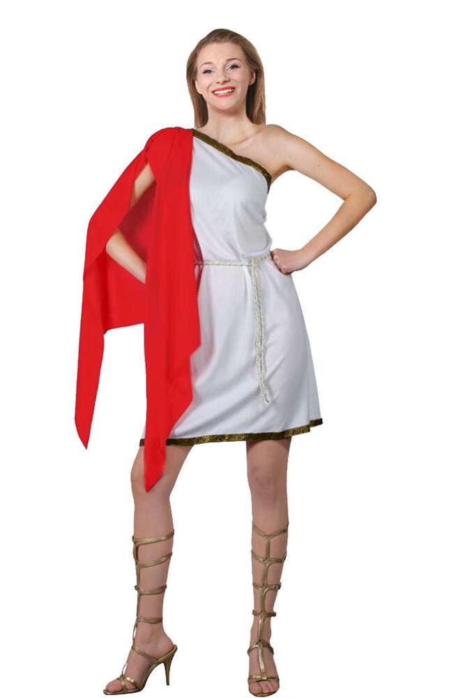 à Condition De Femme Sexy Romain Tentatrice Déguisement Historique Costume Déesse Robe Fantaisie Acheter Maintenant