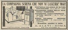W8117 Apparecchi Radio-Fonografo Alati - Pubblicità 1930 - Advertising