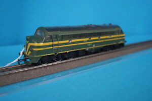 Marklin-3066-SNCB-Diesel-Locomotive-Type-204-Green-DIGITAL-OVP