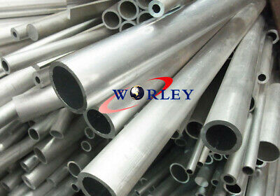 "6061 ALUMINUM TUBE PIPE ROUND 0.55/""OD x0.43/""ID x12/"" x 0.059/"" Wall //14x11x300MM"