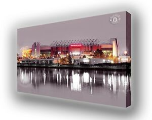 Manchester-United-Old-Trafford-Canvas-Picture-Wall-Hanging-Art-63cm-x-40cm