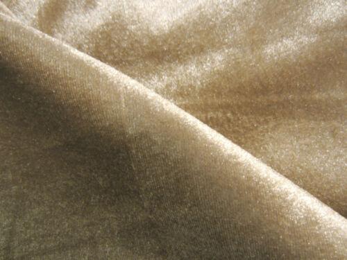 mo86g Tan Shimmer Velvet Style Bolster Cover Neck Roll Yoga Case Custom Size