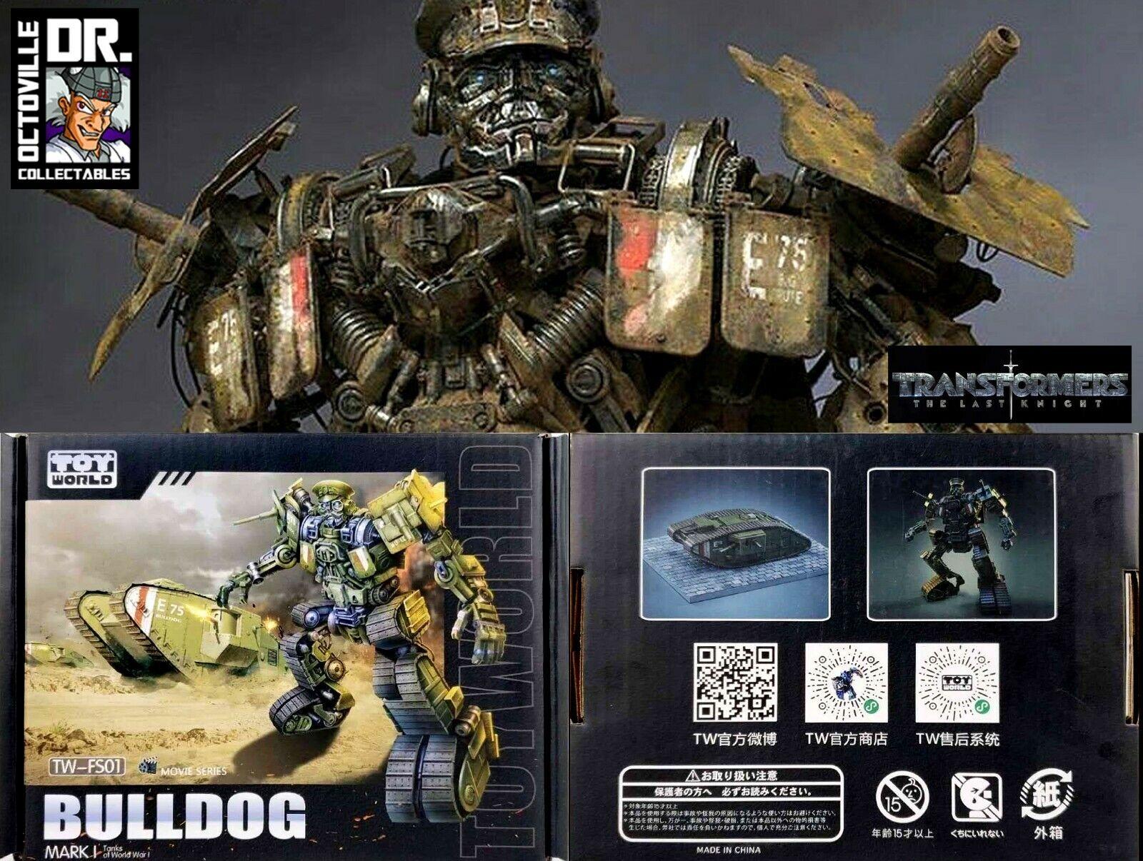 tienda en linea Transformers el último caballero Masterpiece JugueteWorld TW-FS01 Bulldog Brand New New New  buen precio