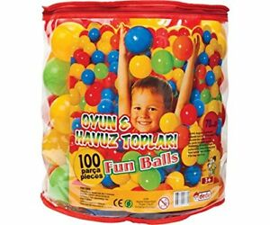 Pelotas para piscina juguete beb ni os peque os set 100 bolas de colores nuevo ebay - Piscina de bolas para bebes ...