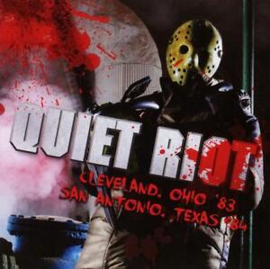 Quiet-Riot-Cleveland-Ohio-039-83-San-Antonio-Texas-039-84-Live-2016-2CD-NEW