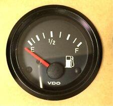 "Fuel level gauge, VDO Genuine Cockpit 301-907, 2""/52mm, w/wire harness"