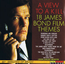 A View to a Kill James Bond Film Themes London Starlight Orchestra CD Soundtrack
