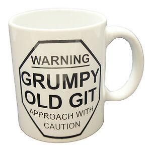 Détails Le Old Thé Design Titre Grincheux Café Rigolo Git Fantaisie Bureau Cadeau D'origine Sur Mug Afficher N8wmn0