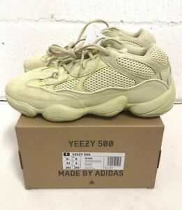 huge selection of 955e1 b1500 Details about Adidas Yeezy Boost 500 Super Moon Yellow DB2966 UK8 US8.5  calabasas 350 700