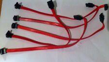 5x Serial Sata Datos Serial Ata Disco Duro Hdd Señal Cable recto de ángulo recto