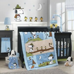Image Is Loading Lambs Amp Ivy Snoopy 039 S Campout Baby