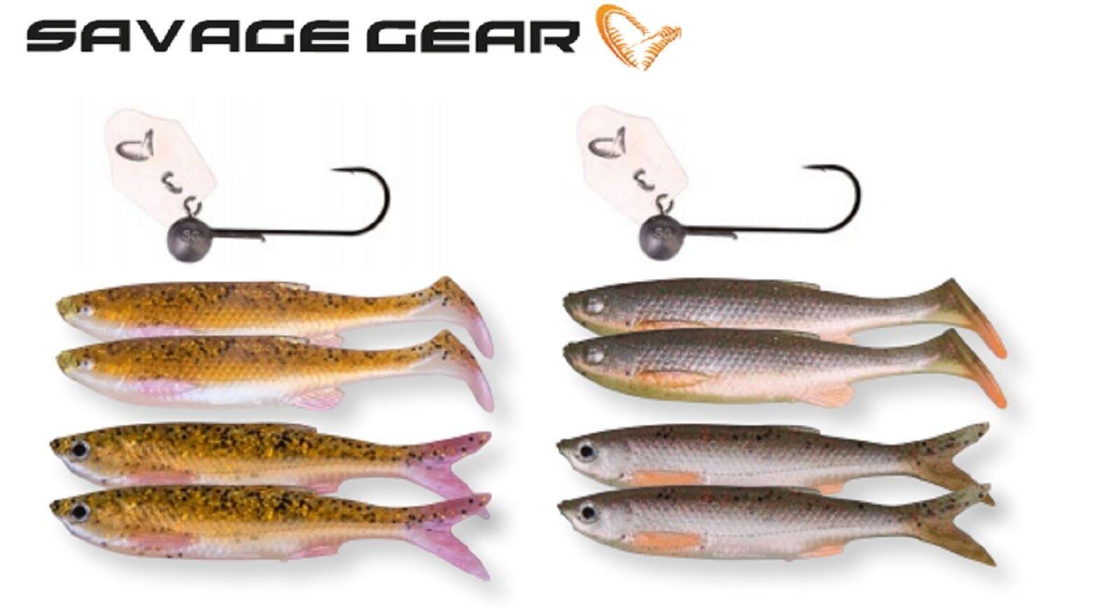 Savage Gear Crazy Blade Sombre Kit Leurre Leurre de 13cm/4+ Pêche 10 - 13cm/4+ de 1psc ea2eb4