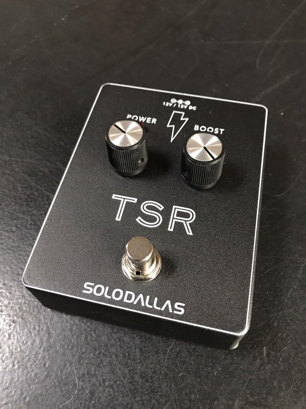 SoloDallas TSR Classic AC DC in the box Compander Boost Solo Dallas