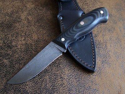 Werkzeug Exklusives Customs Mosaik Damast Messer Outdoor Jagdmesser Damaststahl Hrc-62 Strukturelle Behinderungen