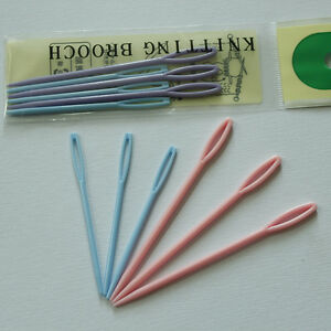 6X-7-9cm-Child-Sewing-Cross-Stitch-Seamed-Knitting-Wool-Weave-Needle-PN