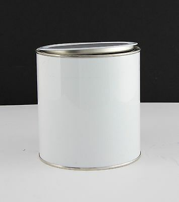 1 LITRE EMPTY PAINT MIXING TINS, NEW X 14, CHEAP,£15.99, FREE POST,TOP QUALITY,