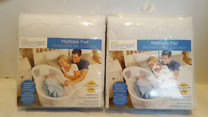Halo-Bassinest-Swivel-Sleeper-Waterproof-Mattress-Pad