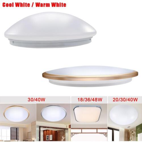 20W 30W 36W 40W 48W LEU Ceiling Light Fitting Slimline Surface Mount Fixture GA