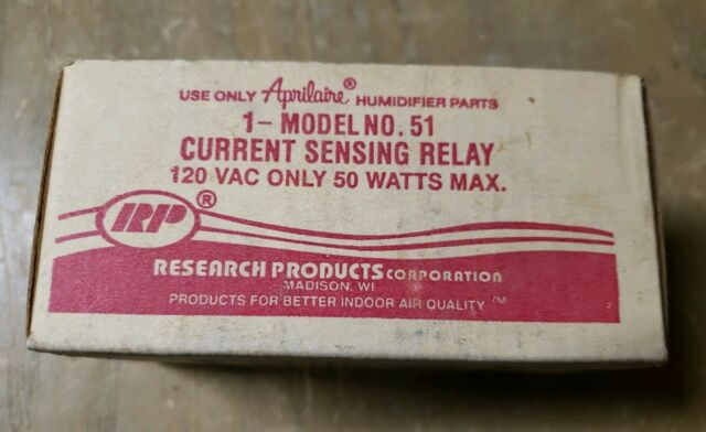 Nos Research Products Current Sensing Relay Model No 51