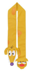 CATDOG-SCARF-NICKELODEON-PROMOTIONAL-ITEM-NEW-IN-PACKET-AWESOME-CHRISTMAS-GIFT