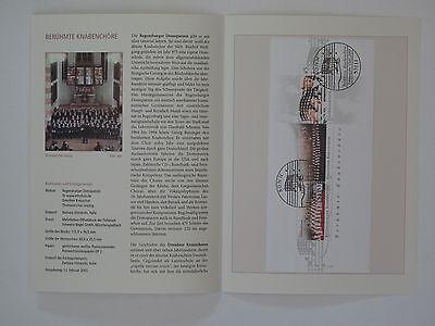 (03j13) Bund Erinnerungsblatt 2003 Mit Esst Mi.nr. Block 61 Knabenchöre Reisen