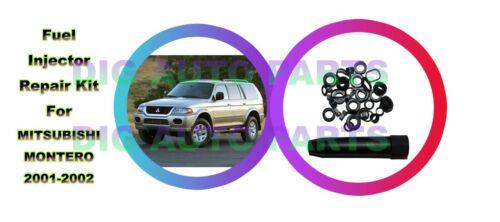 6 Set Fuel Injector Repair Seal Kit for Mitsubishi Montero 2970011 84212310