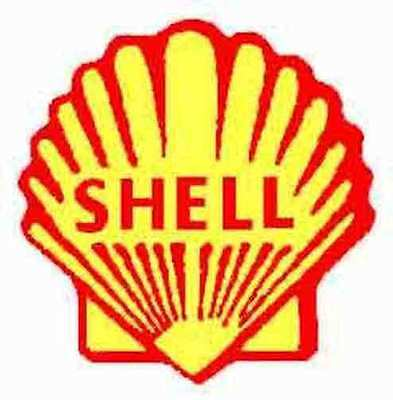 SHELL TANK CAR SELF ADHESIVE STICKER for AMERICAN FLYER S Gauge Trains Parts