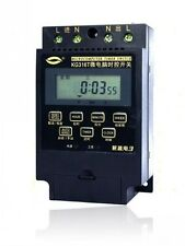 KG316T AC 220V Microcomputer Timer Switch Programmable Controller