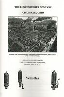 Lunkenheimer Company Brass Steam Whistles Book Manual Catalogue Oiler