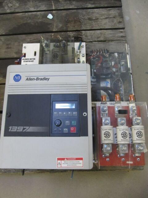 ALLEN BRADLEY BULLETIN 1397 1397-A040R 40HP DRIVE XLNT USED TAKEOUT MAKE OFFER !
