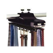 Revolving Motorized Rotating 64 Tie Belt Rack Holder Closet Organizer Hanger