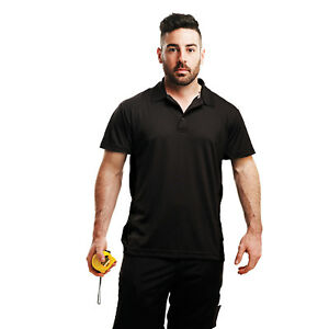 Regatta-Standout-Coolweave-Pique-Polo-Shirt-Mens-Plain-Quick-Dry-Performance-Tee
