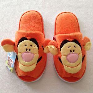 Pooh Tigger Plush Slippers Shoes Sandal
