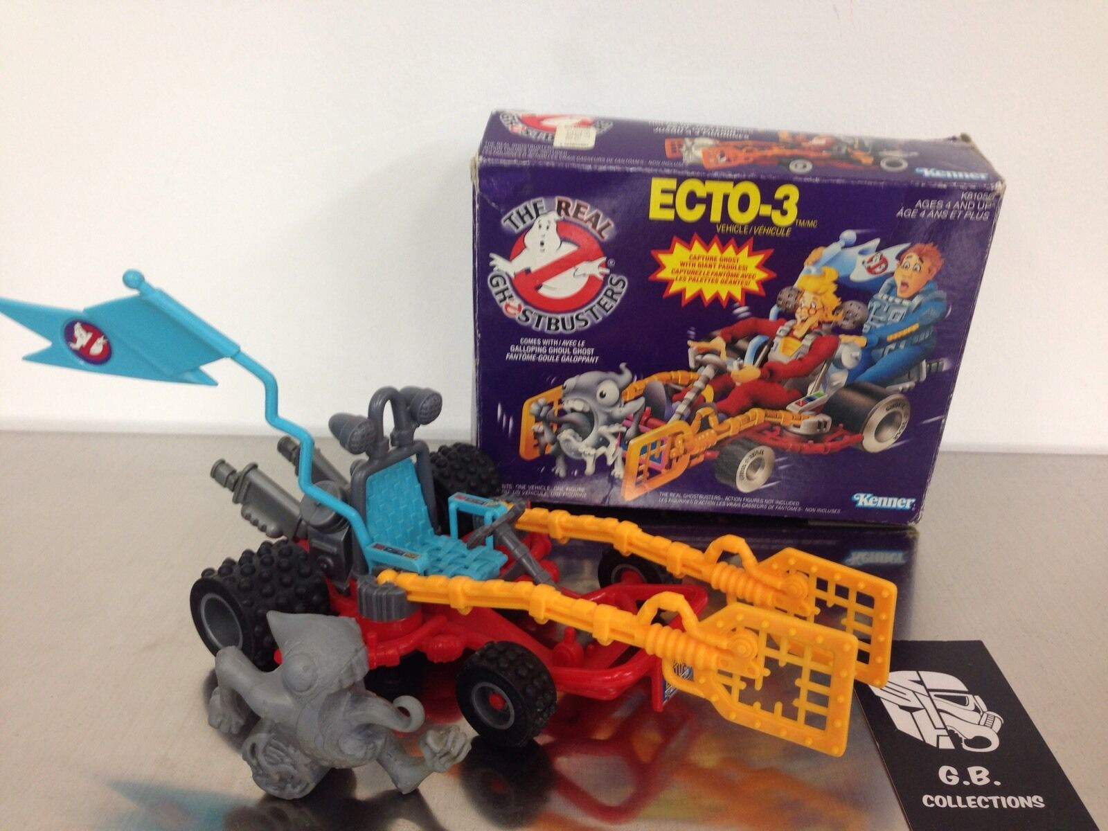 The Real Ghostbusters Vintage Ecto-3 With Box 100% Complete