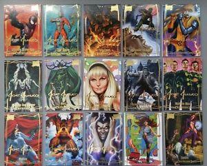 2016 Marvel Masterpieces - GOLD FOIL SIGNATURE - #45 Quicksilver