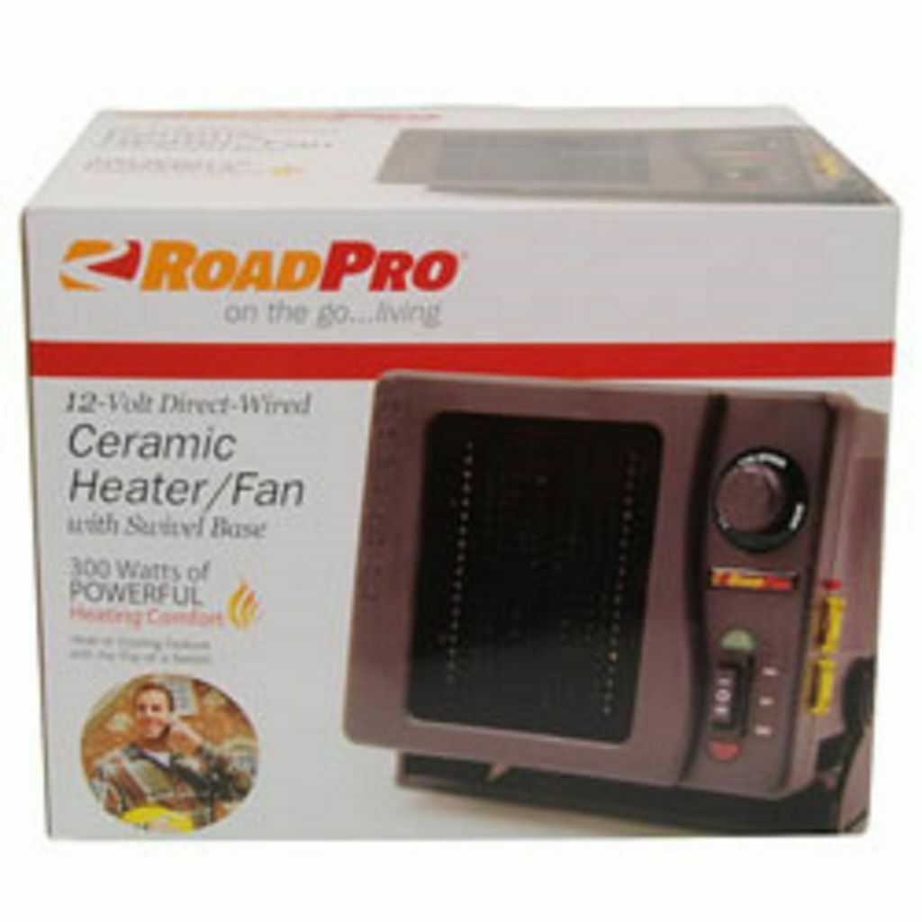 RoadPro 12V 300W Ceramic Fan Heater