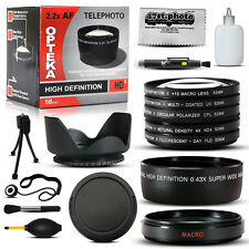 10 Piece Ultimate Lens Package For the Fuji Fujifilm X10 Digital Camera