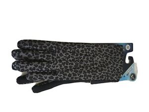 Isotoner-women-039-s-smarter-spandex-glove-gray-one-size-smartouch-technology
