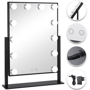 Lighted Vanity Mirror Hollywood Makeup Mirror With Dimmer