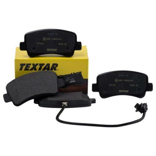TEXTAR 2511201 Bremsbeläge Bremsbelagsatz für OPEL