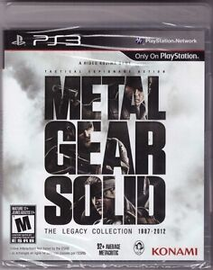 Metal gear solid: the legacy collection - 1987-2012 ign. Com.