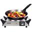 Duronic HP1SS Portable plaque chauffante électrique plaque de cuisson unique ébullition anneau cuisinière