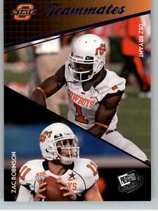 2010 Press Pass Blue #93 Dez Bryant & Zac Robinson Teammates - OSU