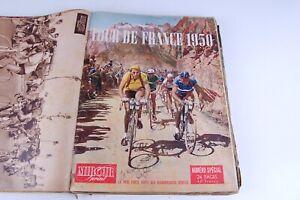 Raccolta-rivista-d-epoca-Miroir-Print-Tour-de-France-1948-1952-Ciclismo