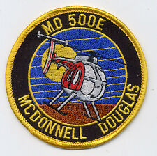 MD 500E McDonnell Douglas - US Army - BC Patch Cat No. M6057