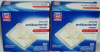 Rite Aid First Aid Antibacterial Sheer Bandages Antiseptic Pad Assorted Sz 160ct