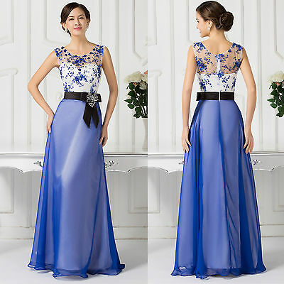 GK Sleeveless 30DChiffon Ball Gown Evening Prom Party Dress 8 Size US 2~16