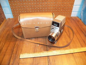 Vintage-BELL-amp-HOWELL-Zoom-Electric-Eye-8mm-Movie-Camera-w-Case