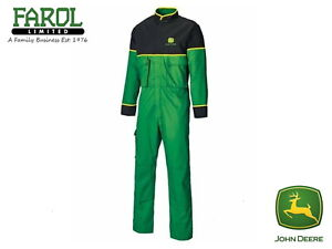 Genuine-John-Deere-Adult-Overalls-Juniper-Green-Overall-Coverall-Boiler-Suit