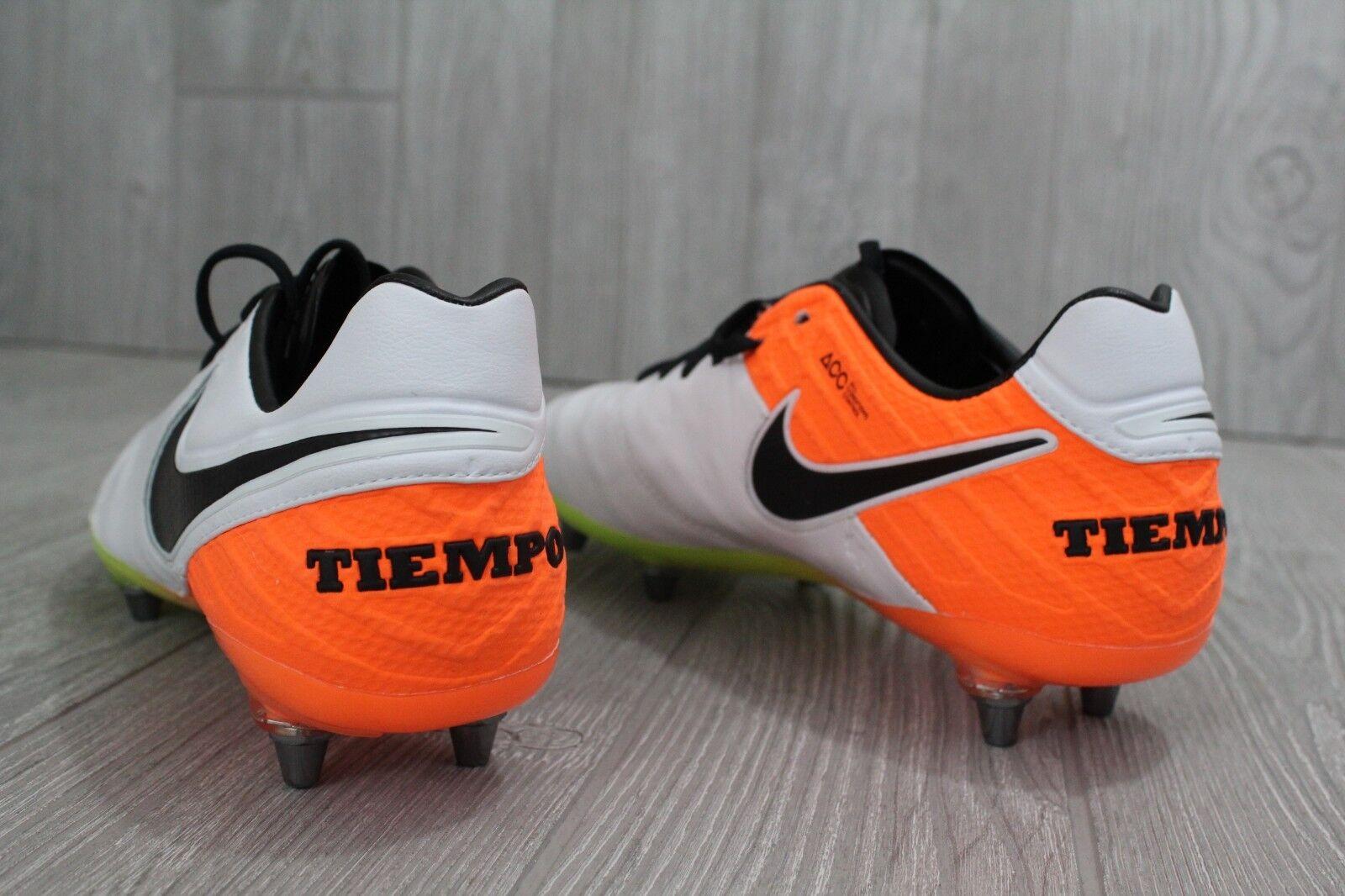 27 New Men's Nike Tiempo Legend VI SG-Pro Soccer Metal Metal Metal Cleats 7 821788-108 f287c5